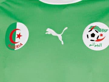 Survetement foot Equipe Algerie