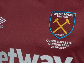 Survetement foot West Ham United