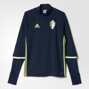 Sweat-shirt de foot équipe de Suède