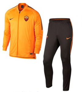 Survêtement orange AS Roma 2017