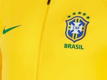 Survêtement équipe du Bresil Coupe du Monde 2018