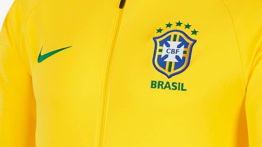 survetement equipe de Brésil noir