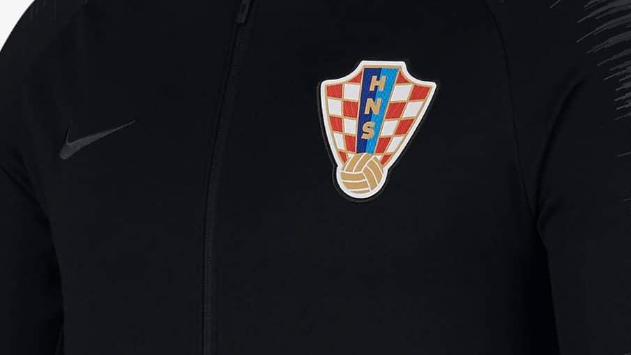 Survêtement équipe de Croatie Coupe du Monde 2018