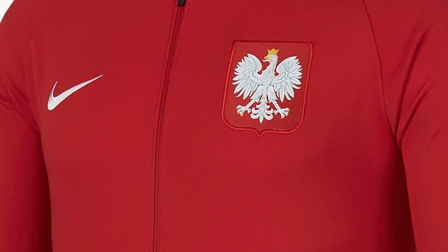 Survêtement équipe de Pologne Coupe du Monde 2018