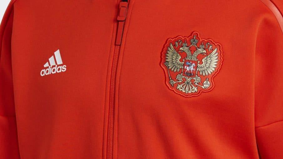 Survêtement équipe de Russie Coupe du Monde 2018