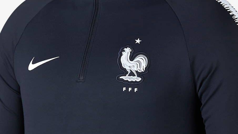 Survetement foot Equipe France Coupe du Monde 2018