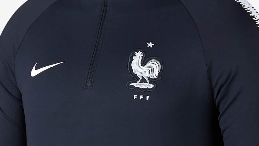 Survêtement équipe de France Coupe du Monde