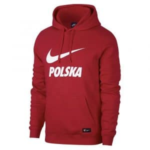 Veste Hooded football equipe pologne 2018-2019