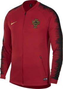 Veste rouge de survet de l'équipe du Portugal pour la Coupe du Monde 2018Veste blanche de survet de l'équipe du Portugal pour la Coupe du Monde 2018