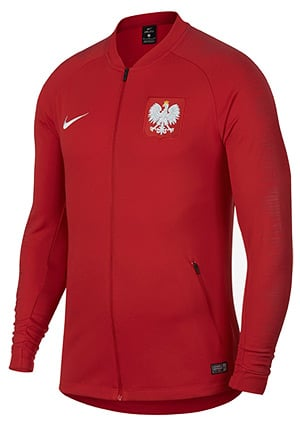 Veste de survêtement équipe de Pologne Coupe du Monde 2018