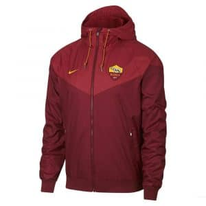 Veste de survetement coupe-vent AS Roma Windrunner 2018-2019