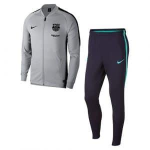 Survetement gris FC Barcelone 2018-2019