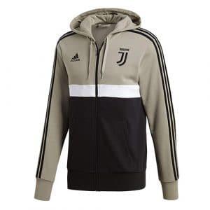 Sweat à capuche 3 bandes Juventus de Turin 2018-2019