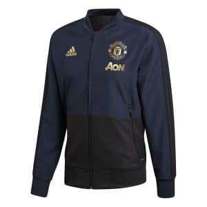 Veste de survetement bleue Manchester United 2018-2019