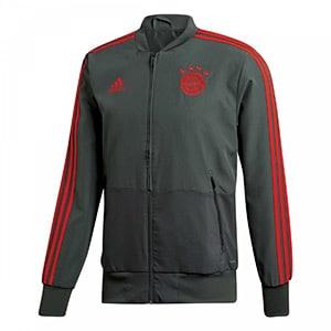 Veste grise de présentation survetement FC Bayern Munich 2018