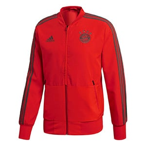 Veste rouge survetement FC Bayern Munich 2018