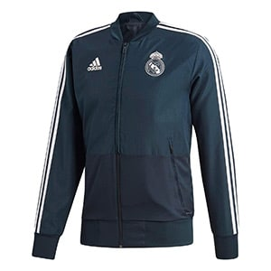Veste survetement Real Madrid 2018-2019 bleu