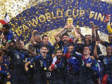 Equipe de France championne du monde de football 2018